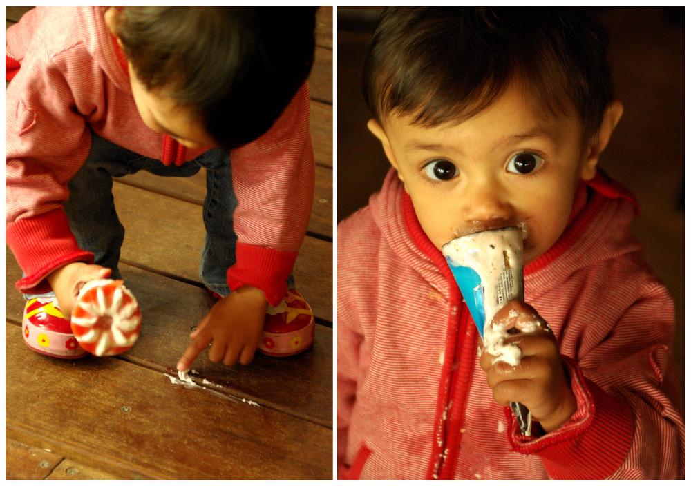 ... ice-cream cone...