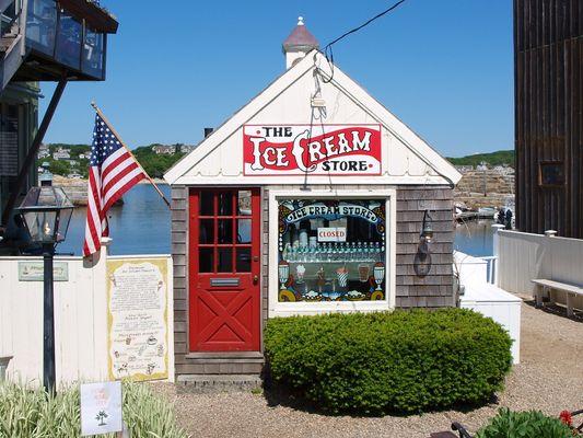 Ice Cream in Rockport