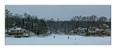 Ice Fishing on Cranberry Lake