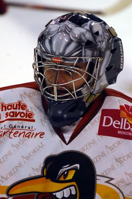 ice hockey , 2e goal of morzine-avoriaz(francia)