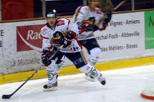 ice hockey action man!