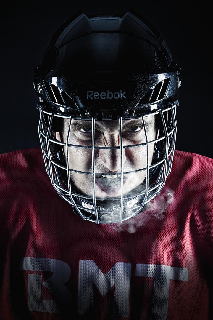 Ice Hockey Face