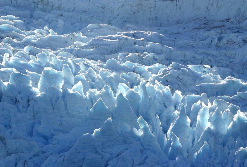Ice in the sun shine