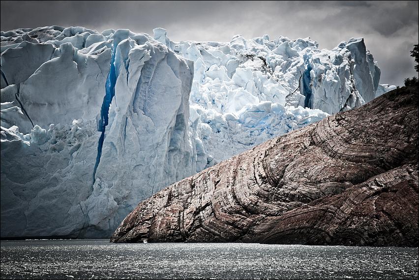 ice meets rock
