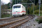ICE-Zug bringt Feriengäste zurück nach Deutschland