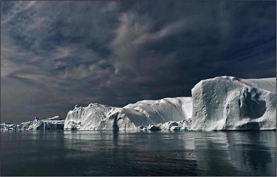 iceberg impression
