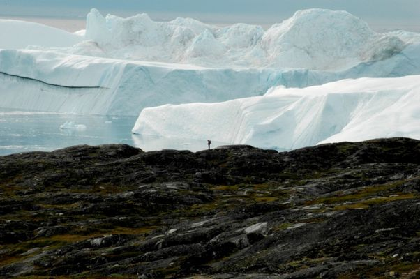 Icefjord in Ilulissat, Greenland