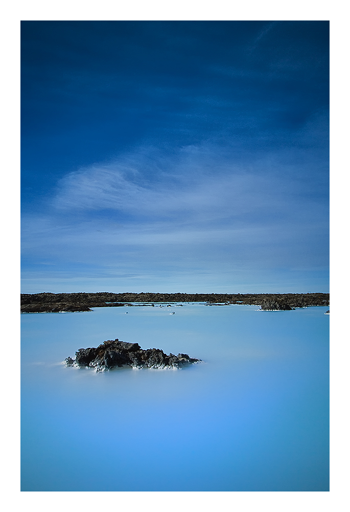 Iceland Blue Lagoon Stand Alone