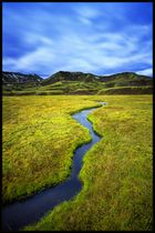 Iceland Blue Sky