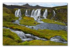 Iceland Impressions - Fall with Green and Red