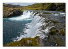 Iceland Impressions - Sparkling Waterfall