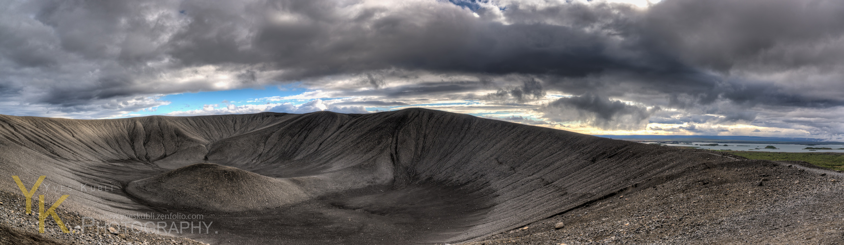 Iceland's Hverfjall crater
