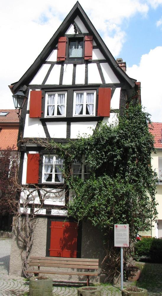 Ich bin das kleinste  Fachwerkhaus Deutschlands    Bild 4