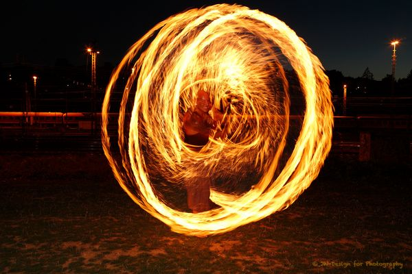 Ich bin Feuer und Flamme