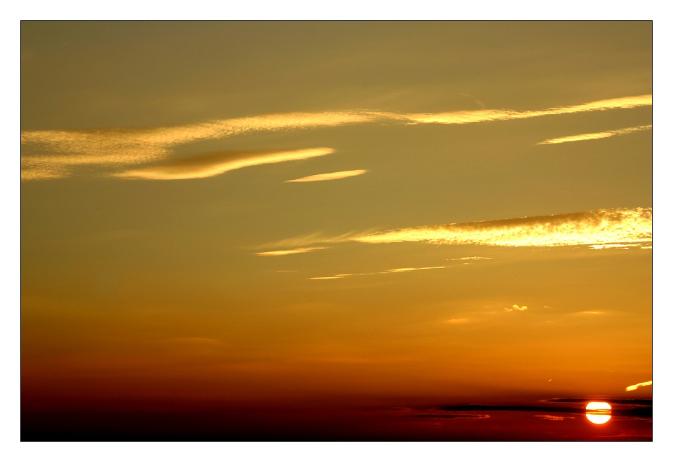 Ich, der Sonnenuntergangfotografierer... #1 ;-))