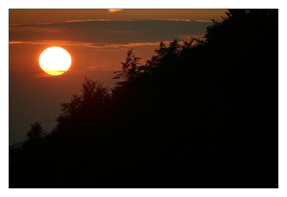 Ich, der Sonnenuntergangfotografierer... #2 ;-))