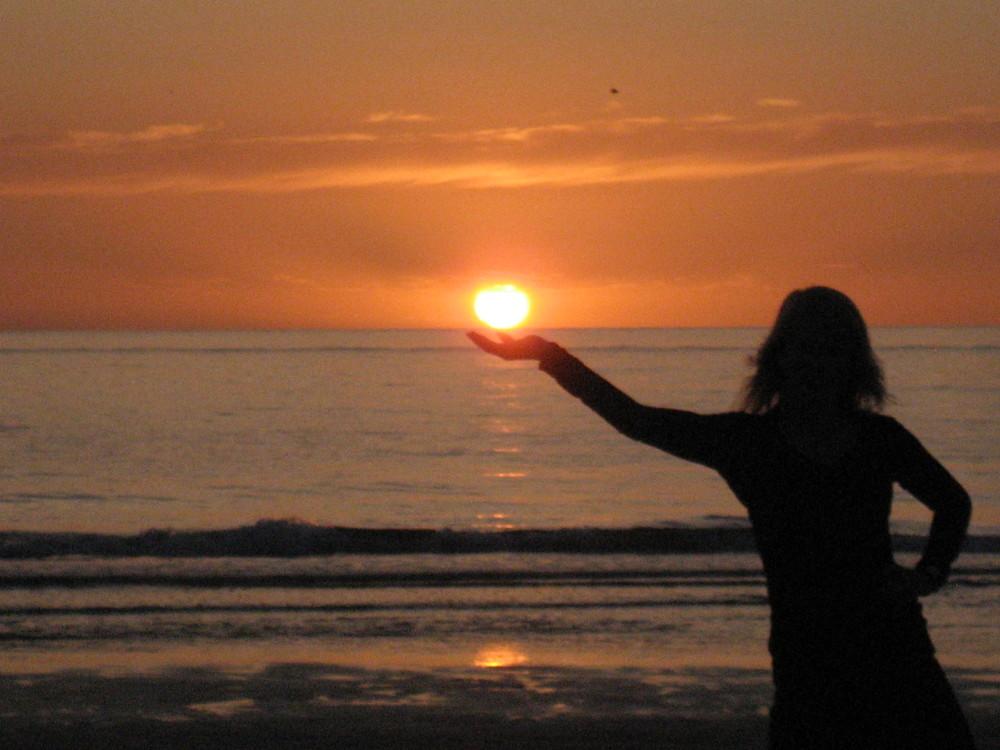 Ich fang die Sonne für dich ...