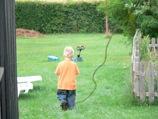 ich geh jetzt Rasen mähen.....
