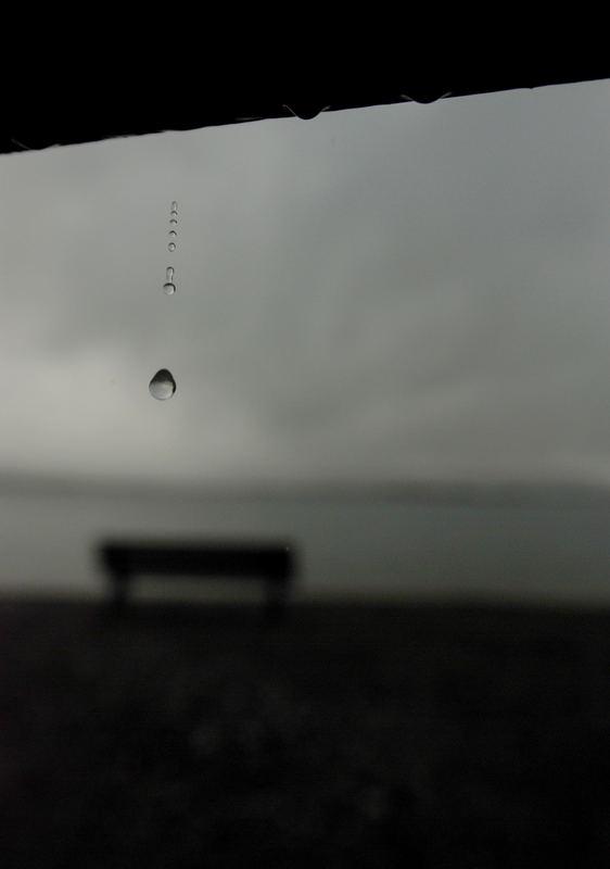 ich glaub es fängt an zu regnen...