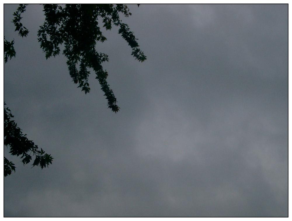 Ich glaub es regnet gleich