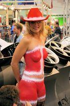 ich glaub ich sehe,rot Automesse Essen 2007