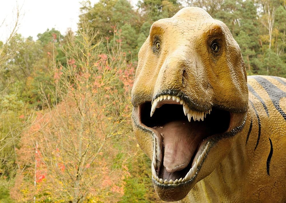 Ich hab euch zum Fressen gern, einer der größten Freiluft -Dinosaurierausstellung...