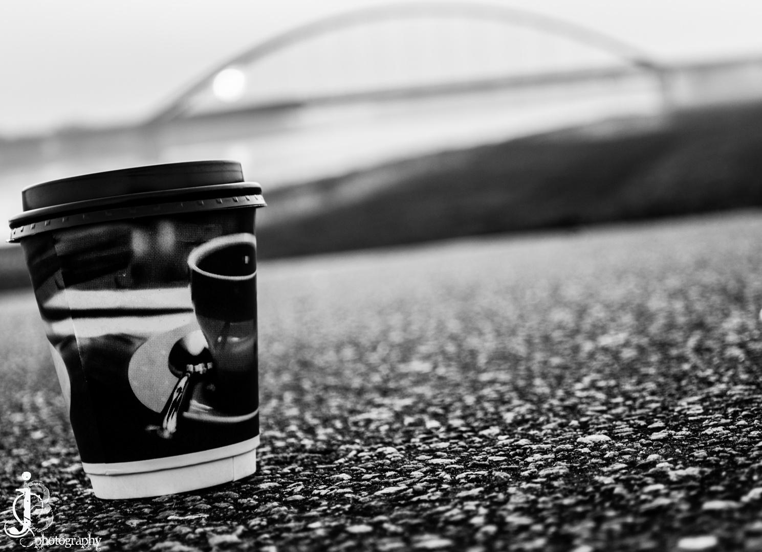 Ich habe diesen Kaffeebecher gesellschaft geleistet :)