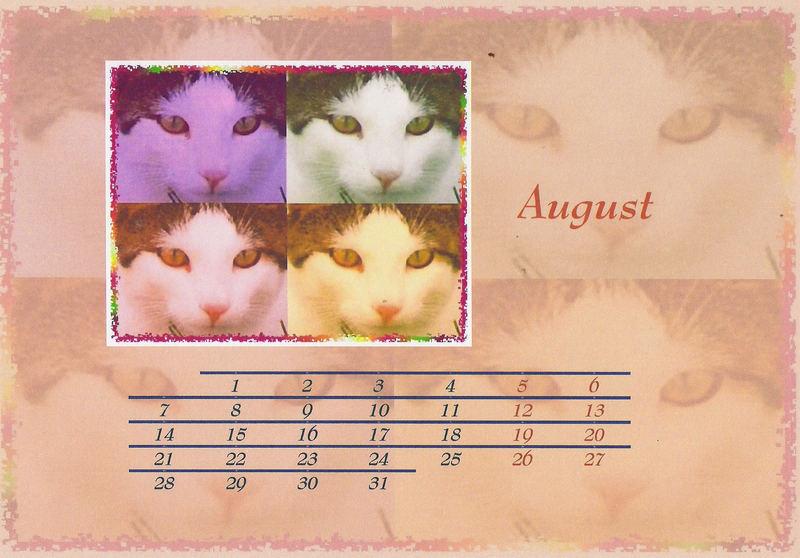 Ich habe meinem Dosi gesagt dass er mal ein Kalenderblatt von mir machen soll.........