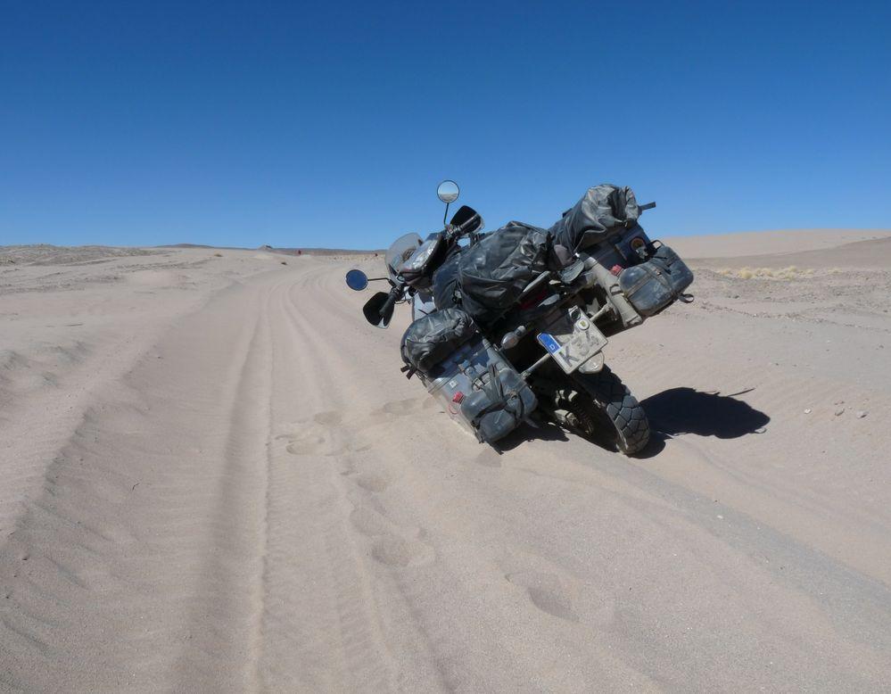 Ich HASSE Sandpisten! (Bolivien) von Krad-Vagabund