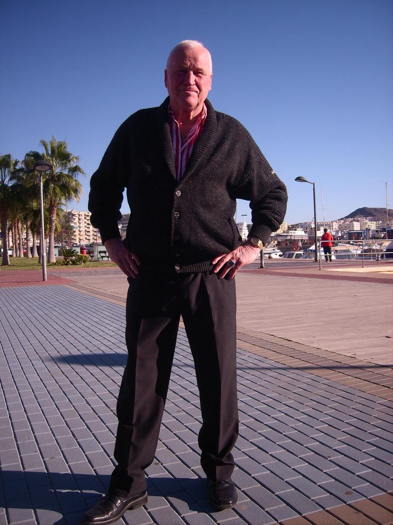 ich in Aguilas am Puerto