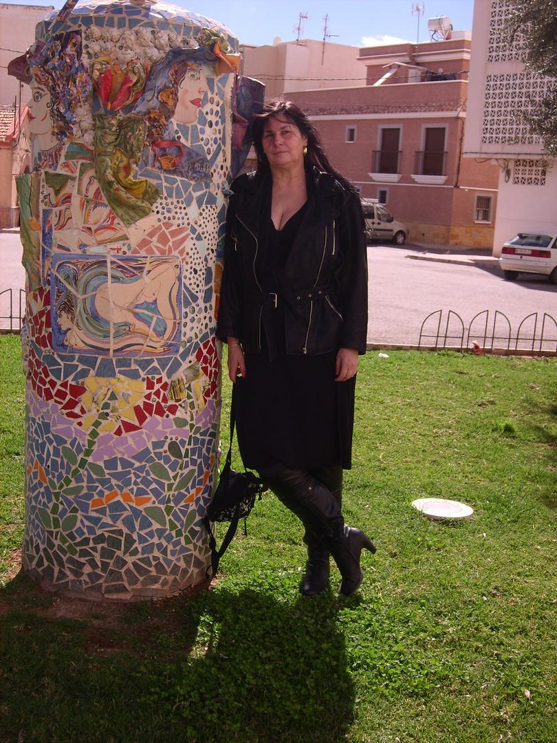 ich in Aguilas März 2013