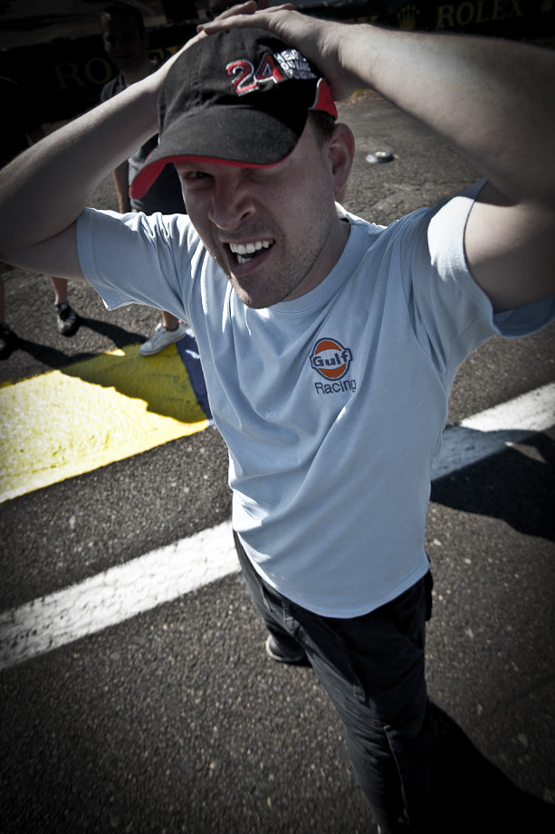 Ich in Le Mans 2010