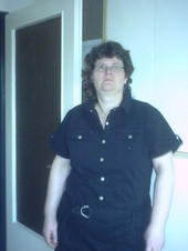 ich in schwarz und lange haare