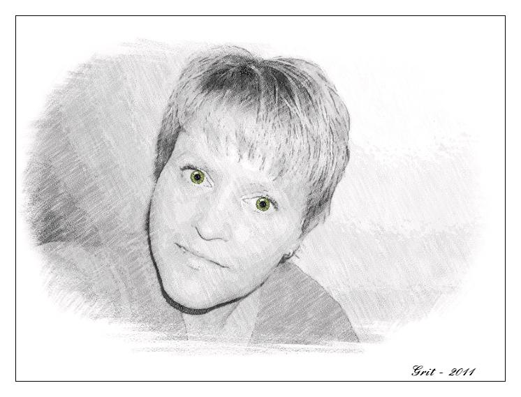 Ich - Januar 2011 (Selbstporträt)