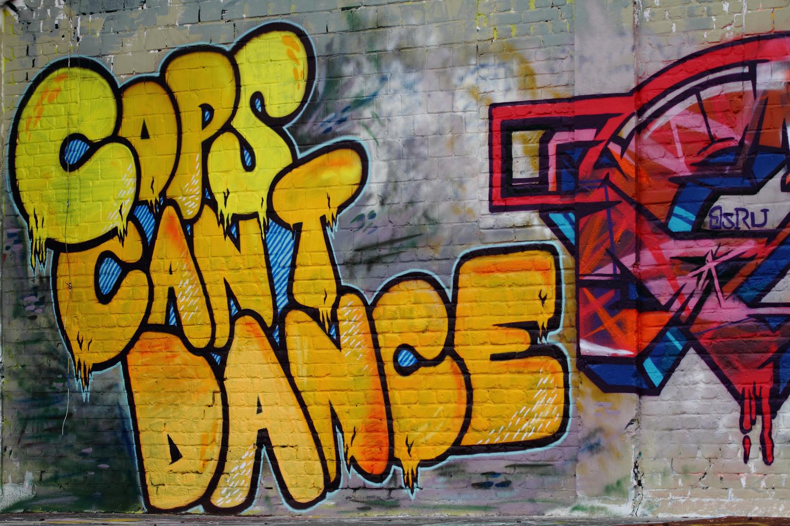 ...ich kann auch nicht tanzen!