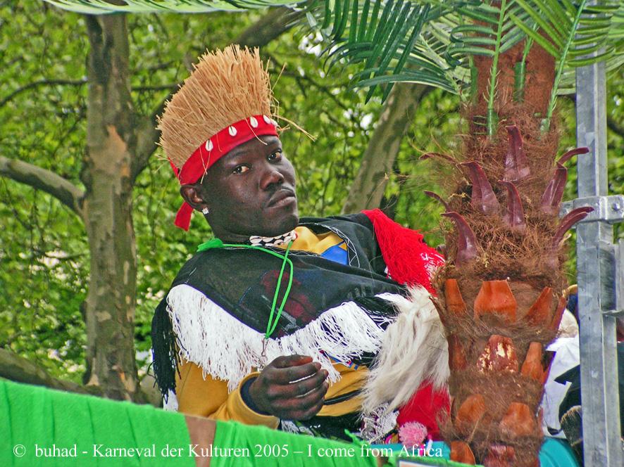 Ich komme aus Afrika