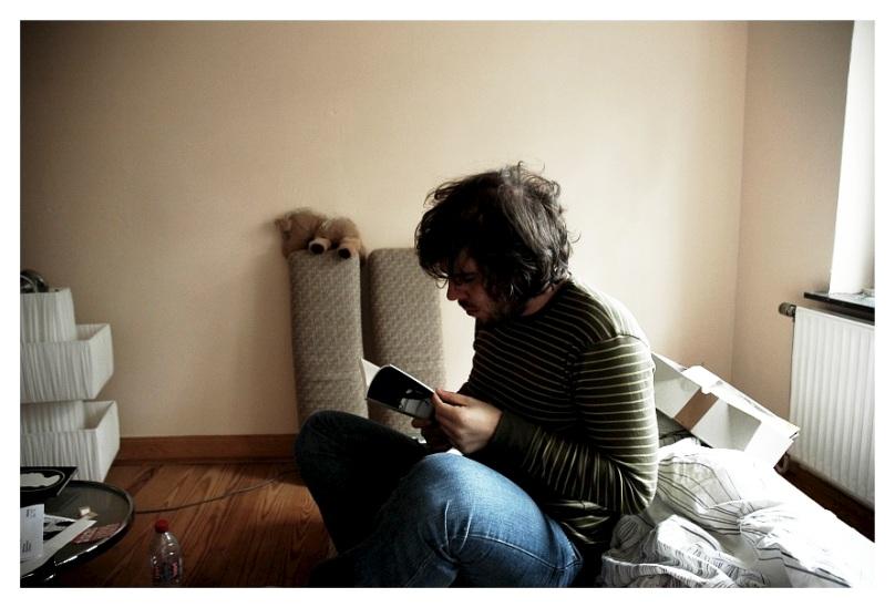 Ich lese