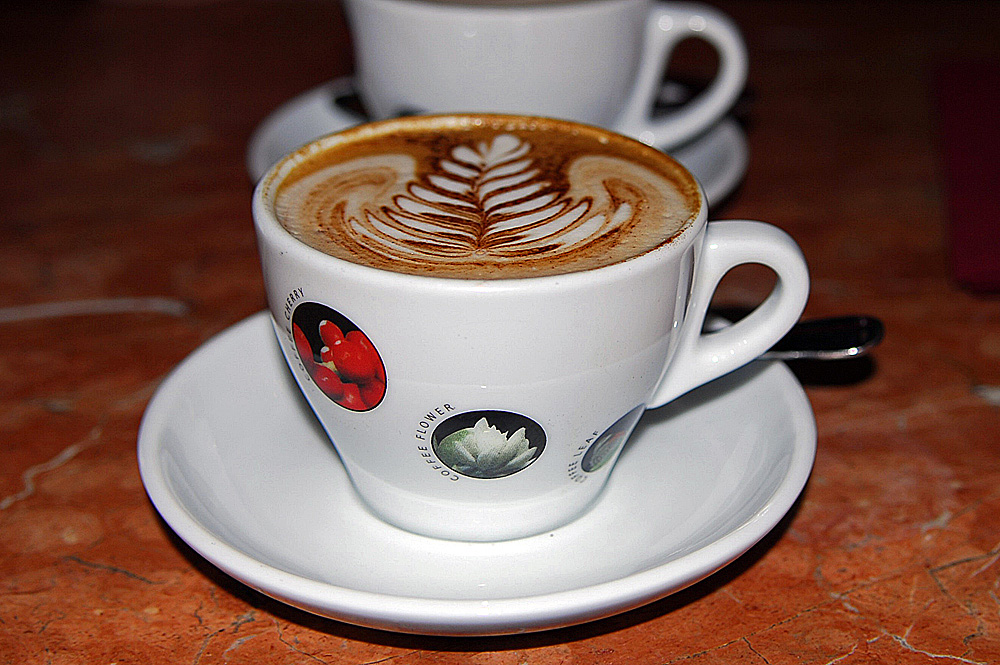 Ich liebe Cappuccino