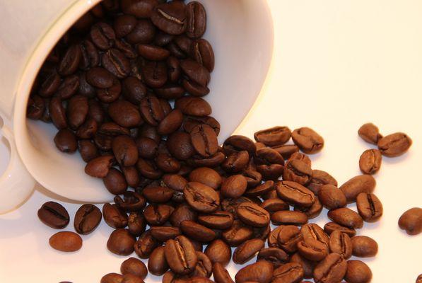 ...ich liebe den Geruch von frischen Kaffee-Bohnen!