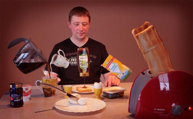 Ich liebe Frühstück.....