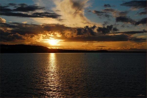 Ich liebe sie.....Sonnenuntergänge...