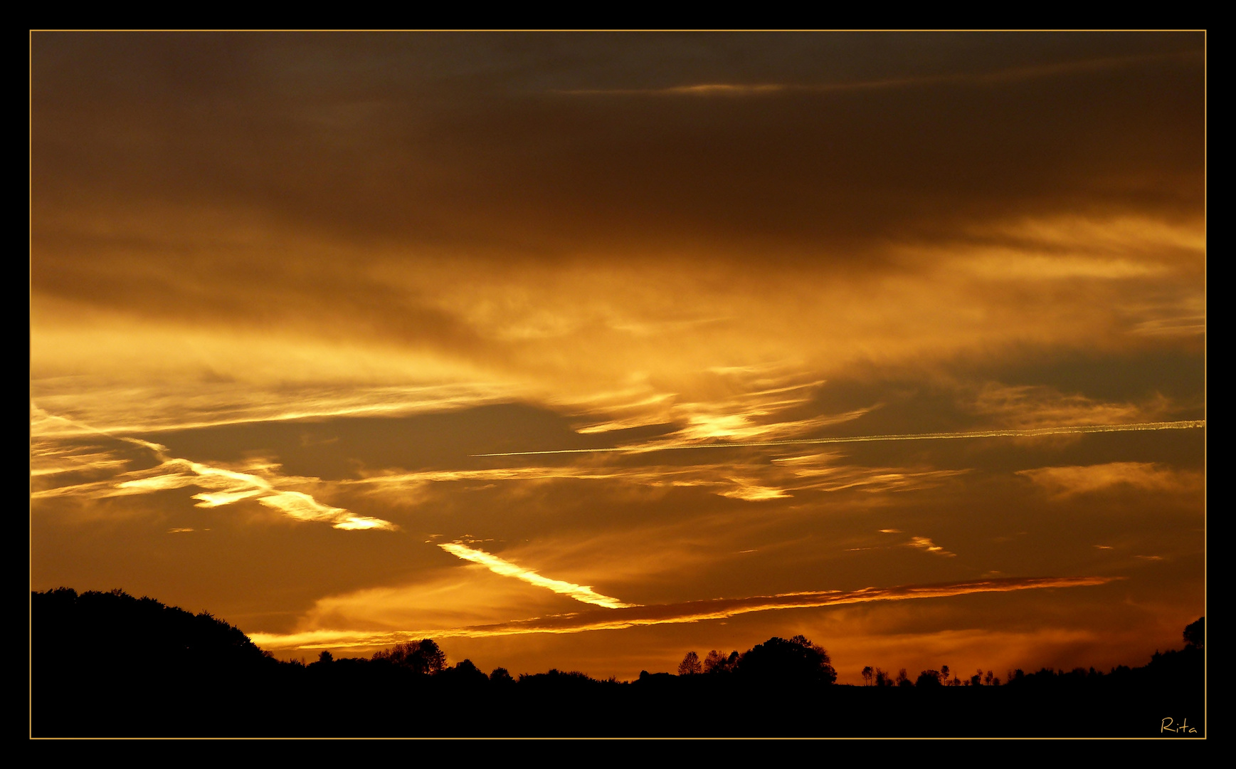 ich liebe Sonnenuntergänge (2)...