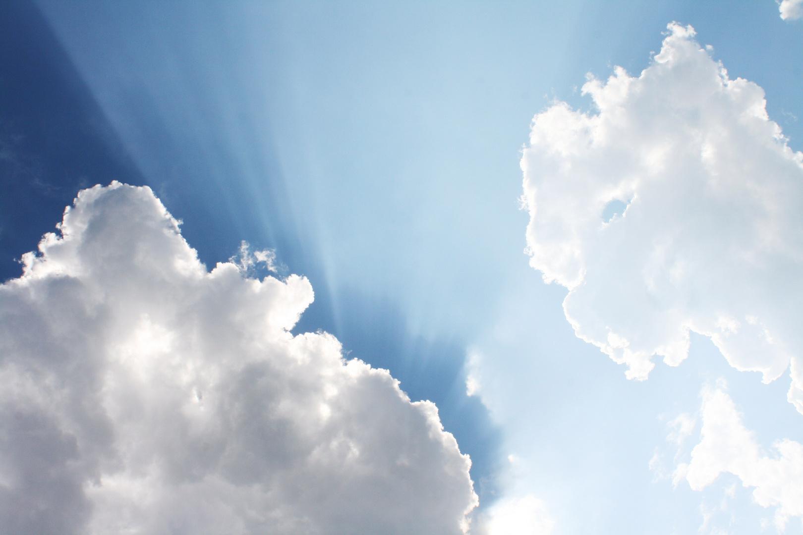 Ich liebe Wolken...