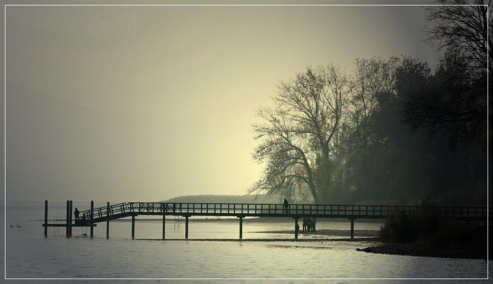 Ich mag den See ......