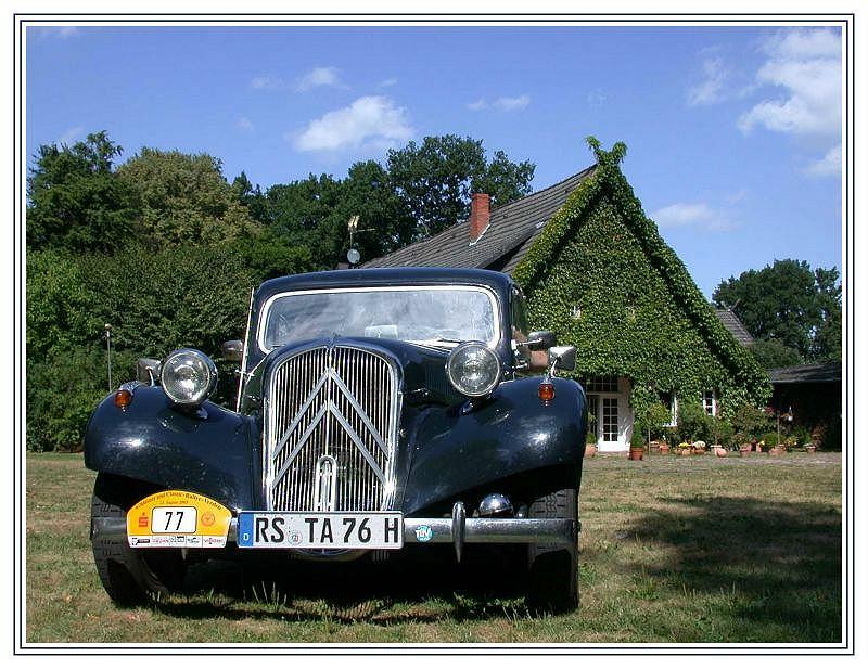 Ich mag diese alten Autos....