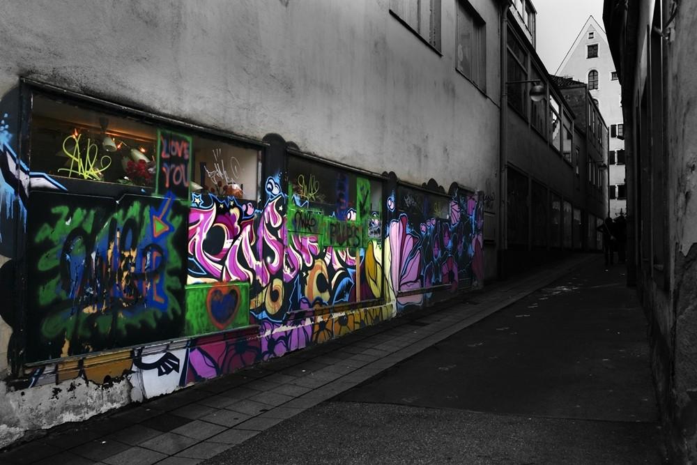 Ich mag Graffiti, du magst Graffiti - jeder mag Graffiti!