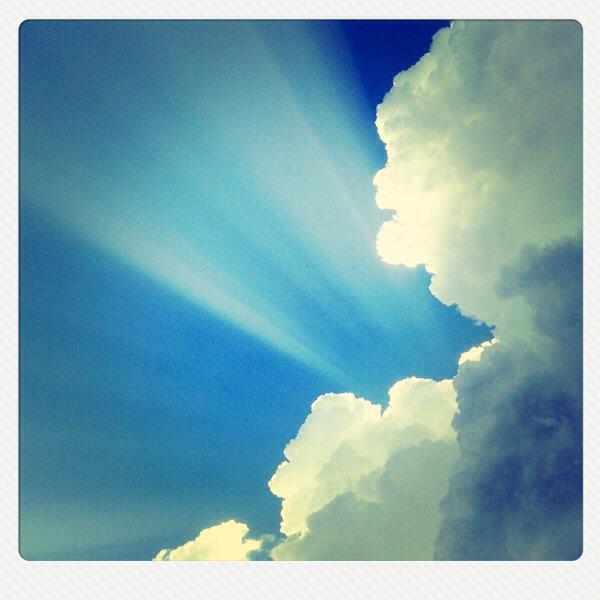 ich mag sie einfach die Wolken