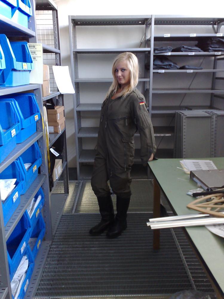 ich mal in Uniform