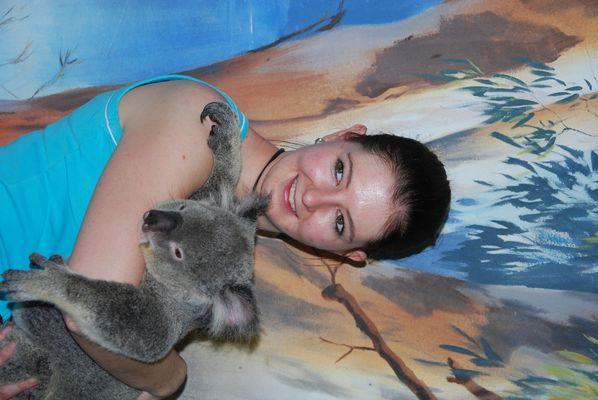 ich mit koala in australien