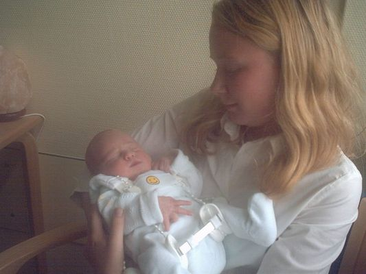 Ich mit meiner kleinen cousine